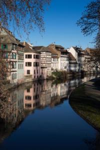 Défi reflets eau - Strasbourg petite France