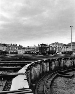 Rotonde dépot SNCF de Longueau